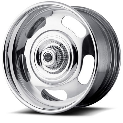 American Racing VN327 Rally Polished wheel (18X8, , 78.3, 46.32 offset)