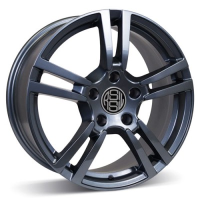 RSSW Private Anthracite / Anthracite, 19X9.5, 5x130 ,(déport/offset 46 ) 71.6