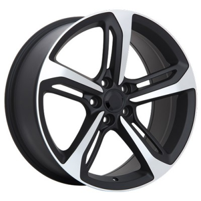 Art Replica Wheels R73 Machine Black wheel (18X8, 5x112, 66.5, 35 offset)