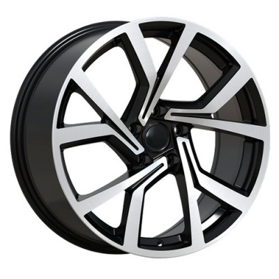 Art Replica Wheels Replica 115 Machine Black wheel (18X8, 5x112, 57.1, 45 offset)