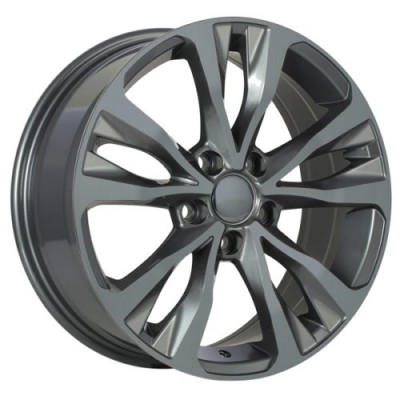 Art Replica Wheels Replica 126 Gun Metal wheel (16X6.5, 5x100, 54.1, 40 offset)