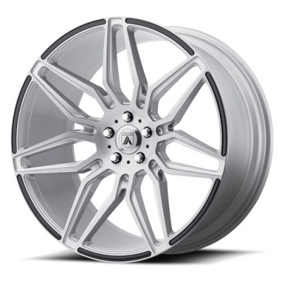 Asanti Black ABL-11 Machine Silver wheel (20X10.5, 5x114.3, 72.6, 36.08 offset)