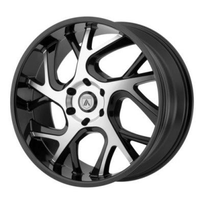 Asanti Black ABL-16 Gloss Black Machine wheel (20X8.5, 6x139.7, 100.50, 30 offset)