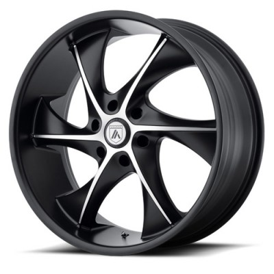 Asanti Black ABL-17 Machine Black wheel (20X8.5, 6x139.7, 100.5, 39.3 offset)