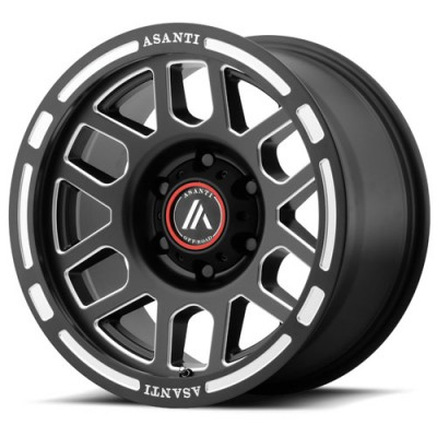 Asanti Off Road AB812 Machine Black wheel (16X8, 5x114.3, 83.06, 31.81 offset)