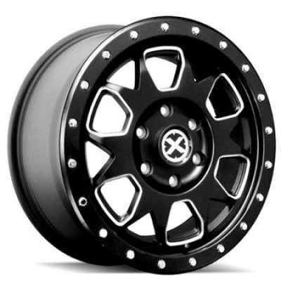 ATX Series AX196 Machine Black wheel (20X9, 6x139.7, 93.10, 45 offset)