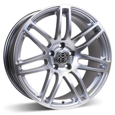 RSSW Diamond Hyper Silver wheel (19X8, 5x120, 72.6, 35 offset)