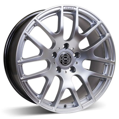 RSSW Diamond Hyper Silver wheel (19X8, 5x120, 73, 35 offset)