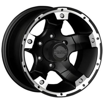 Cragar Viper 900B Satin Black wheel (17X8, 5x139.7, 130.1, 0 offset)