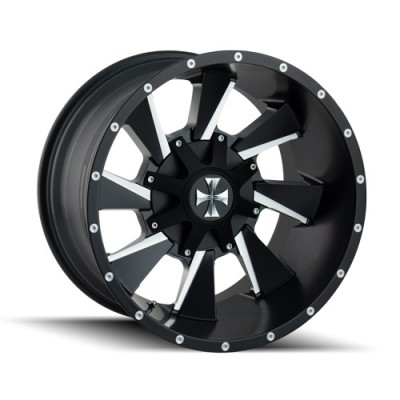 Cali Off-Road DISTORTED 9106 Satin Black wheel (20X10, 6x135/139.7, 106, -19 offset)
