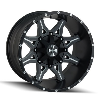 Cali Off-Road OBNOXIOUS 9107 Satin Black wheel (20X10, 6x135/139.7, 106, -19 offset)