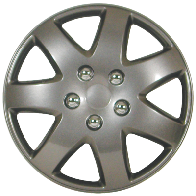 "Wheel Covers 16"" (set of 4) - Argent - D96216CS"