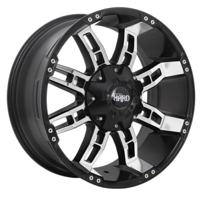 Ruffino Wheels Brute II Gloss Black Machine wheel (17X9, 6x135/139.7, 108.1, 12 offset)