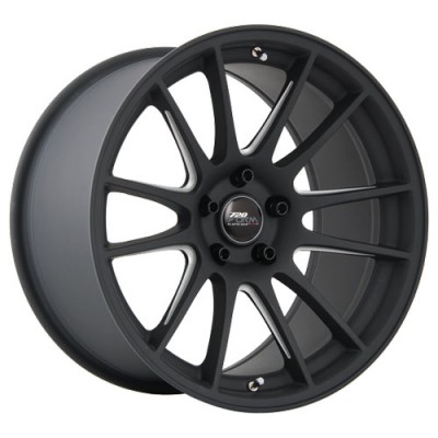 720 Form GTF2 Matt Black Machine wheel (18X10, 5x100, 73.1, 38 offset)