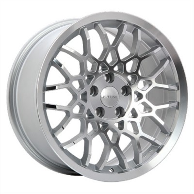 Ruffino Wheels Meister Machine Silver wheel (18X8.5, 5x114.3, 73.1, 42 offset)
