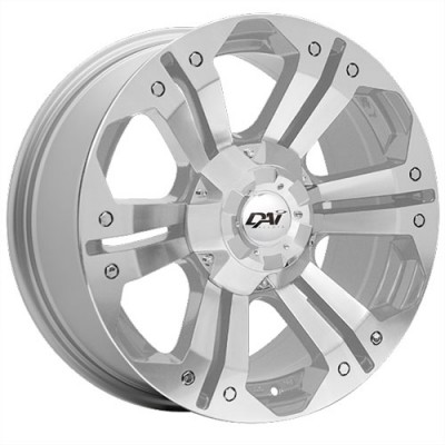 Dai Alloys Nomad Silver wheel (18X8.5, 5x127/139.7, 77.8, 20 offset)