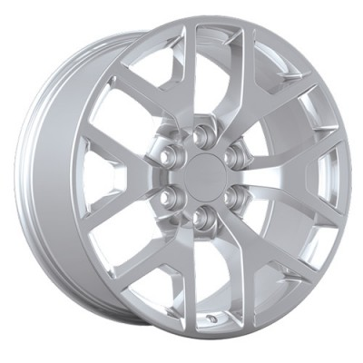 Art Replica Wheels Replica 54 Chrome wheel (20X9, 6x139.7, 78.1, 27 offset)