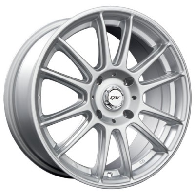 Dai Alloys Radial Silver wheel (15X6.5, 4x100, 73.1, 42 offset)