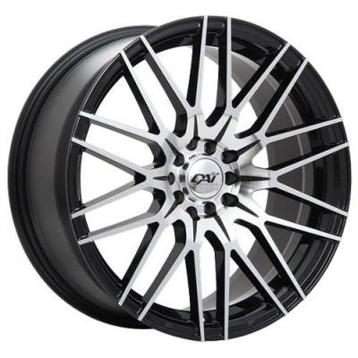 Dai Alloys Rebel Gloss Black Machine wheel (17X7.5, 5x108/114.3, 73.1, 45 offset)