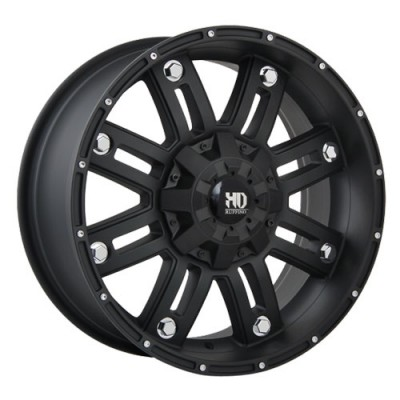 Ruffino Wheels Traxx Matte Black wheel (16X8, 6x139.7, 108.1, 0 offset)