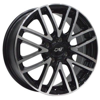Dai Alloys Yumi Gloss Black Machine wheel (15X6, 4x100, 73.1, 42 offset)