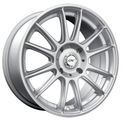 DAI Alloys Radial Silver wheel (15X6.5, 5x100, 73.1, 38 offset)