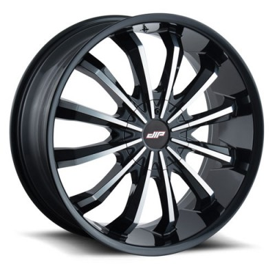 DIP FUSION D40 Gloss Black wheel (22X9.5, 5x114.3/120, 74.1, 35 offset)