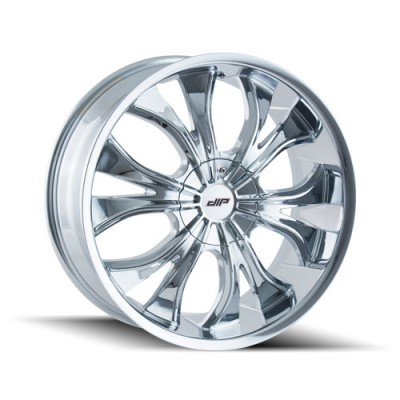 DIP HUSTLER D42 Chrome wheel (22X9.5, 5x114.3/120, 74.1, 35 offset)