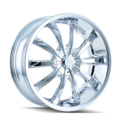 DIP SLACK D66 Chrome wheel (22X8, 5x112/120, 72.62, 35 offset)