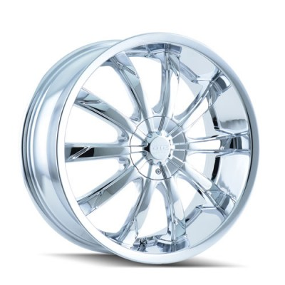 Dip D66 Slack Chrome wheel (22X8, 5x112/115, 72.62, 35 offset)