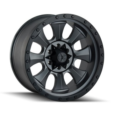 Dirty Life IRONMAN Matte Black wheel (20X10, 6x135, 87, -19 offset)