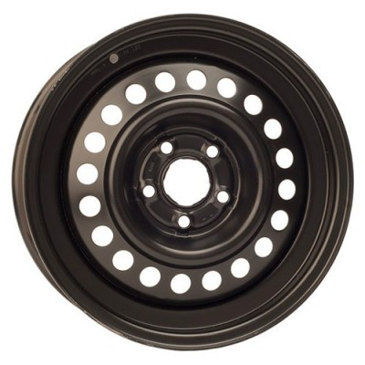 PMC Steel Wheels Black / Noir, 15X6, 5x100 ,(déport/offset 38 ) 57.1
