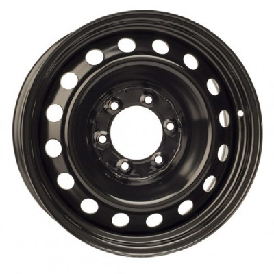 PMC Steel Wheels Black / Noir, 17X7, 6x139.7 ,(déport/offset 42 ) 106.1