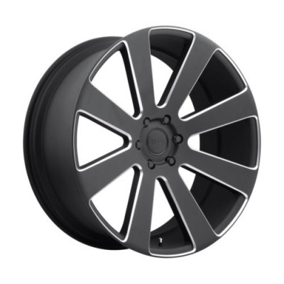 DUB 8 Ball S187 Machine Black wheel (22X9.5, 5x127, 78.1, 10 offset)