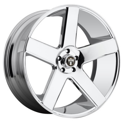 DUB Baller Dc S115 Chrome wheel (24X10, 5x120, 72.6, 20 offset)