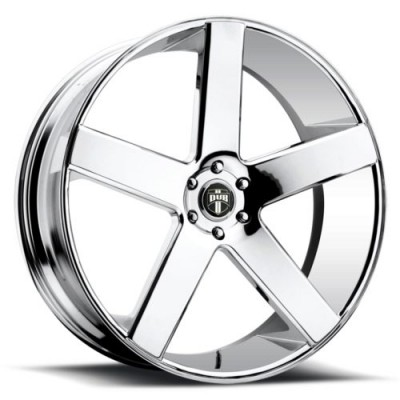 DUB Baller S115 Chrome wheel (20X9.5, 5x150, 110.3, 35 offset)