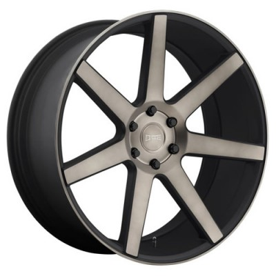 DUB Future S127 Machine Black wheel (22X9.5, 6x135, 87.1, 30 offset)