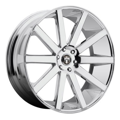 DUB Shot Calla S120 Chrome wheel (22X9.5, 6x139.7, 78.1, 30 offset)