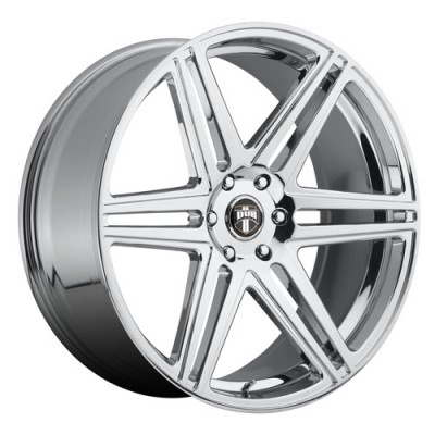 DUB Skillz S122 Chrome wheel (22X9.5, 6x139.7, 78.1, 30 offset)