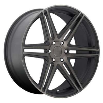 DUB Skillz S123 Machine Black wheel (22X9.5, 6x139.7, 78.1, 30 offset)