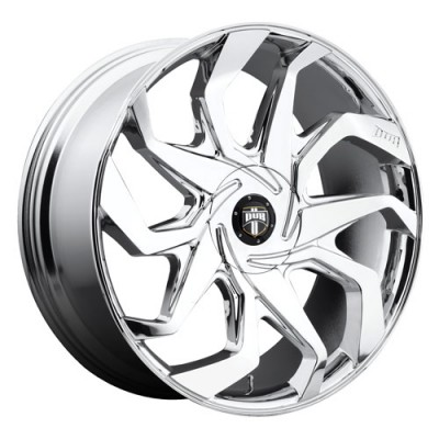 DUB Sleeper S124 Chrome wheel (24X10, 5x120.7/127, 78.1, 10 offset)