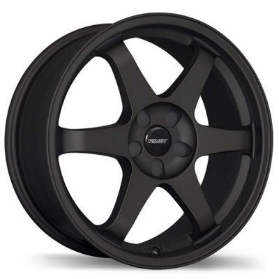 Fastwheels Hayaku Satin Black wheel (17X7, 5x105, 73, 42 offset)