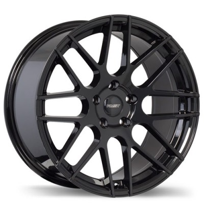 Fastwheels Rennen Black wheel (17X7.5, 5x110, 73, 35 offset)
