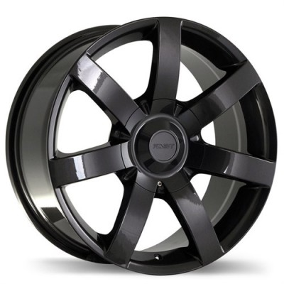 Fastwheels Slalom Gun Metal wheel (17X8, 6x120, 67.1, 20 offset)