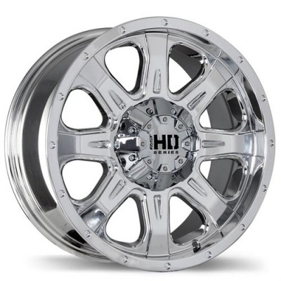 Fastwheels C4 Chrome wheel (18X9, 5x114.3/127, 78.1, 20 offset)