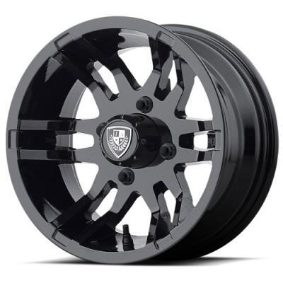 Fairway Alloys FA140 FLEX Gloss Black wheel (14X6.5, 4x101.6, 70.70, -20 offset)