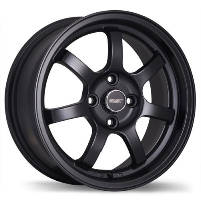 Fast Wheels A026 Satin Black wheel (15X6.5, 4x100, 67.1, 42 offset)