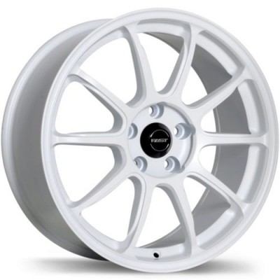 Fast Wheels Dime White wheel (18X8, 5x114.3, 72.6, 35 offset)
