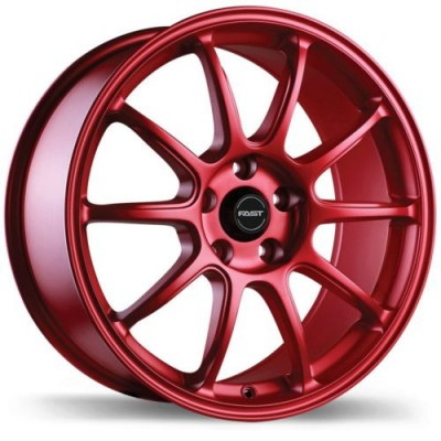 Fast Wheels Dime Red wheel (18X8.0, 5x112, 72.6, 35 offset)