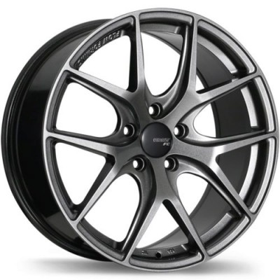 Fast Wheels FC04 Titanium wheel (19X8.5, 5x114.3, 72.6, 35 offset)